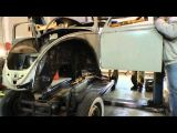 Classic VW BuGs How to Repair Restore Beetle Heater Channels pt.3