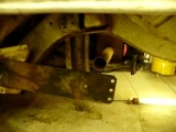 vw bus how to narrow rear torsion