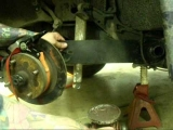 How to lower a swing axle VW with DropPlates, similar to drop spindles part 2.wmv