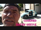 How To Lower A Volkswagen Super Beetle-Part 3 - DONE!